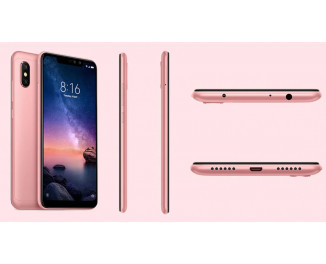 Смартфон Xiaomi Redmi Note 6 Pro 4/64Gb Rose Gold |Global|
