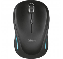 Мышь беспроводная Trust Yvi FX Wireless Mouse - black (22333)