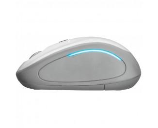 Мышь беспроводная Trust Yvi FX White (22335)