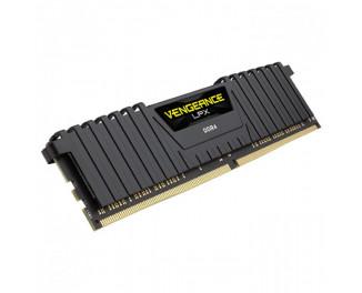 Оперативная память DDR4 16 Gb (3000 MHz) Corsair Vengeance LPX Black (CMK16GX4M1D3000C16)