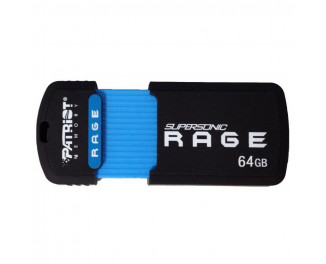 Флешка USB 3.0 64Gb Patriot Rage (PEF64GSRUSB)