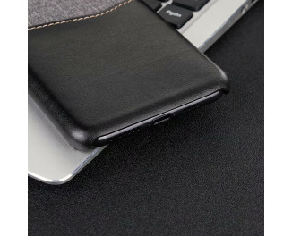 Чехол для Apple iPhone XS HOTR Leather & Cloth Case /black