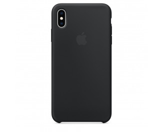 Чехол для Apple iPhone XS Max  Silicone Case /black