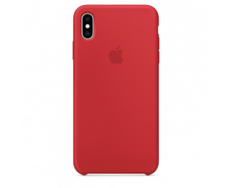 Чехол для Apple iPhone XS Max Silicone Case RED (PRODUCT) (MRWH2)