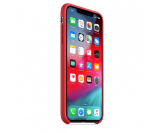 Чехол для Apple iPhone XS Max  Silicone Case RED (PRODUCT)