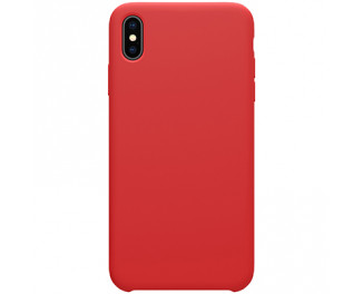 Чехол для Apple iPhone XS Max  NILLKIN FLEX Case /red