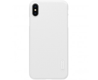 Чехол для Apple iPhone XS Max  NILLKIN Super Frosted Shield /white