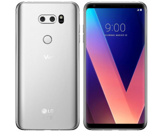 Смартфон LG V30+ 4/128Gb (H930DS) with LG HF Cloud Silver