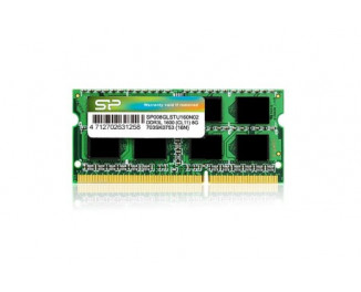 Память для ноутбука SO-DIMM DDR3 2 Gb (1600 MHz) Silicon Power (SP002GLSTU160V02)