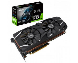 Видеокарта ASUS GeForce RTX 2080 Ti Advanced Edition 11GB (DUAL-RTX2080TI-A11G)