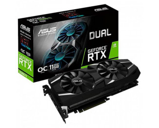 Видеокарта ASUS GeForce RTX 2080 Ti OC Edition 11GB (DUAL-RTX2080TI-O11G)