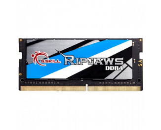 Память для ноутбука SO-DIMM DDR4 4 Gb (2400 MHz) G.SKILL Ripjaws (F4-2400C16S-4GRS)
