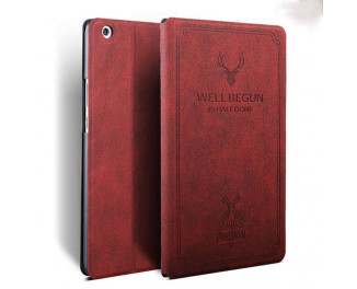 Чехол для планшета Xiaomi Mi Pad 4 Plus  Smart Cartoon PU Leather Case /red