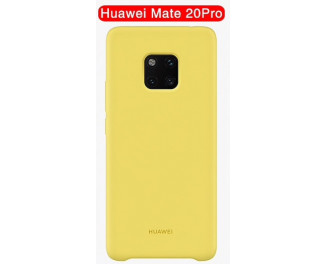 Чехол для смартфона HUAWEI Mate 20 Pro Original Official Silicone Case /yellow