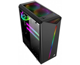 Корпус 1stPlayer Rianbow-R3 Color LED Black