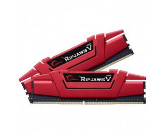Оперативная память DDR4 16 Gb (3600 MHz) (Kit 8 Gb x 2) G.SKILL Ripjaws V (F4-3600C19D-16GVRB)