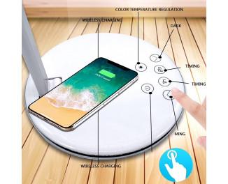 Светодиодная лампа настольная SENLIFANG & Qi Wireless Charger /white