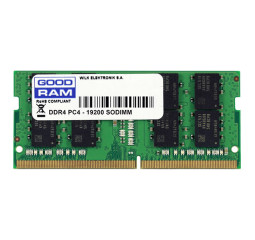 Память для ноутбука SO-DIMM DDR4 16 Gb (2666 MHz) GOODRAM (GR2666S464L19/16G)