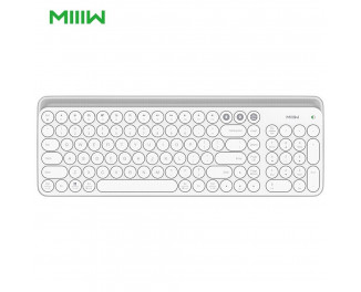 Клавиатура беспроводная MIIIW (Xiaomi) Dual-mode bluetooth Keyboard /white