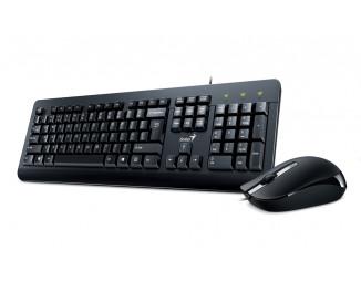 Клавиатура и мышь Genius Genius KM-160 Black Ukr