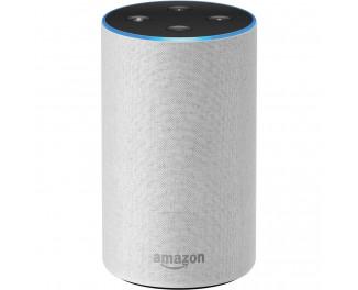 Умная колонка Amazon Echo (2nd Generation) с голосовым ассистентом Amazon Alexa Sandstone