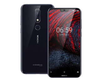 Смартфон Nokia 6.1 Plus 4/64Gb Blue (TA-1116)