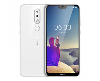 Смартфон Nokia 6.1 Plus 4/64Gb White (TA-1116)