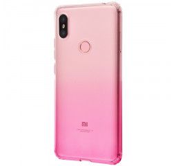 Чехол для смартфона Xiaomi Redmi S2  Gradient Design /white&pink