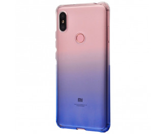 Чехол для смартфона Xiaomi Redmi S2  Gradient Design /white&blue