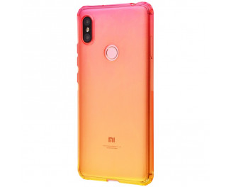 Чехол для смартфона Xiaomi Redmi S2  Gradient Design /red&yellow