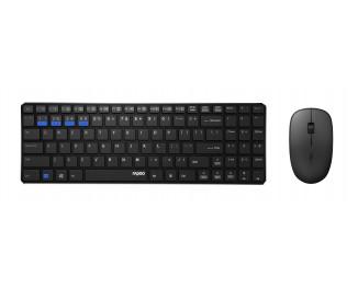 Клавиатура и Мышь беспроводная Rapoo 9300M Wireless Black