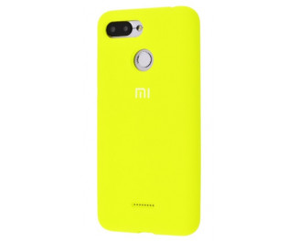 Чехол для смартфона Xiaomi Redmi 6/6A  Silicone Cover /yellow