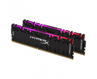 Оперативная память DDR4 32 Gb (3200 MHz) (Kit 16 Gb x 2) Kingston HyperX Predator RGB (HX432C16PB3AK2/32)