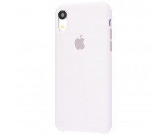 Чехол для Apple iPhone XR  Silicone Case (original quality) /white