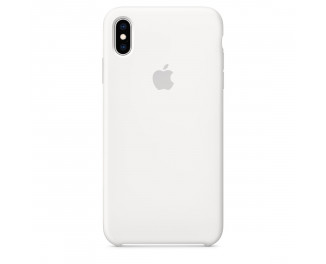 Чехол для Apple iPhone XS Max  Silicone Case /white