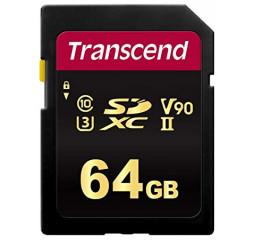 Карта памяти SD 64Gb Transcend UHS-II 700S (TS64GSDC700S)