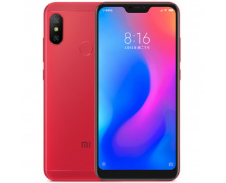 Смартфон Xiaomi Mi A2 Lite 4/64Gb Red |Global|