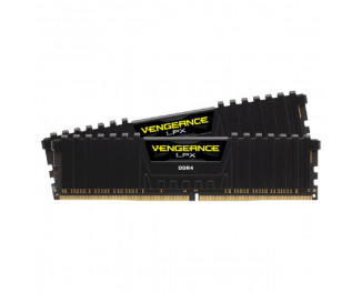Оперативная память DDR4 32 Gb (3200 MHz) (Kit 16 Gb x 2) Corsair Vengeance LPX Black (CMK32GX4M2B3200C16)