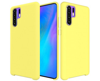 Чехол для смартфона HUAWEI P30 Pro  Liquid Silicone Case /yellow