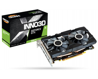Видеокарта Inno3D GeForce GTX 1660 TI TWIN X2 (N166T2-06D6-1710VA15)