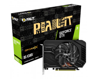 Видеокарта Palit GeForce GTX 1660 (NE51660018J9-165F)