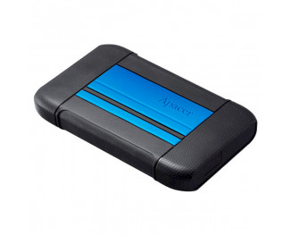 Внешний жесткий диск 2 TB Apacer AC633 Speedy Blue X Tough Black (AP2TBAC633U-1)