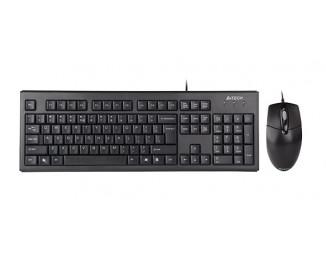 Клавиатура и мышь A4Tech KRS-8572 USB Black