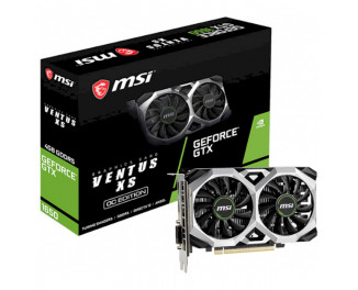 Видеокарта MSI GeForce GTX 1650 VENTUS XS 4G OC