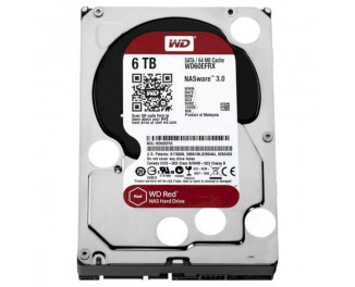 Жесткий диск 6000Gb WD Red (WD60EFAX)