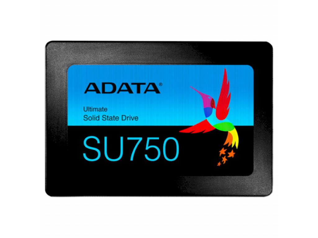 SSD накопитель 256Gb ADATA Ultimate SU750 SATA 3D TLC (ASU750SS-256GT-C)