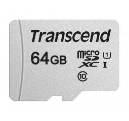 Карта памяти microSD 64Gb Transcend UHS-I 300S (TS64GUSD300S)