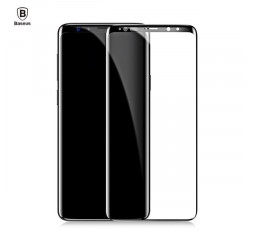 Защитное стекло для Samsung Galaxy S8  Baseus Full 3D 9H /Black
