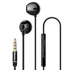 Наушники Baseus Lark Enock H06 Wired Earphones /black