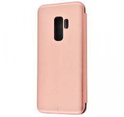 Чехол для смартфона Samsung Galaxy S9+  OEM Flip Magnetic Case /rose gold